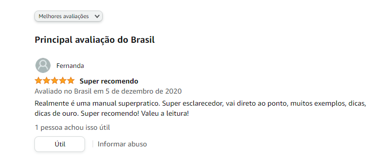 Avaliação Amazon Manual